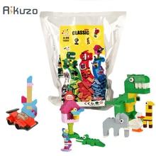 1000/500 Pcs Building Bricks Block Bulk Set City DIY Creative Bricks Toys For Child Educational Gift Compatible lepinING legoing