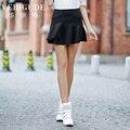 Veri Gude Summer Style White Ruffed Skirt Mini Skirt Sporty Style