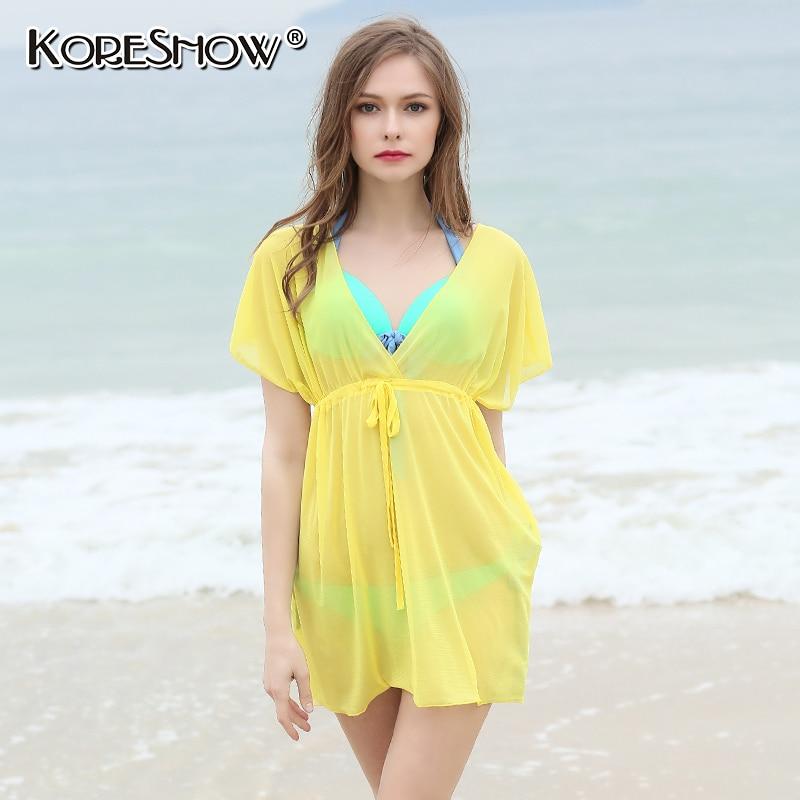 Beach dress saida de praia praia beach túnica de las mujeres cangas de praia par