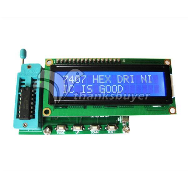 Integrated Circuit IC Tester for 74 40 45 Series lC Logic Gate Tester Digital Meter