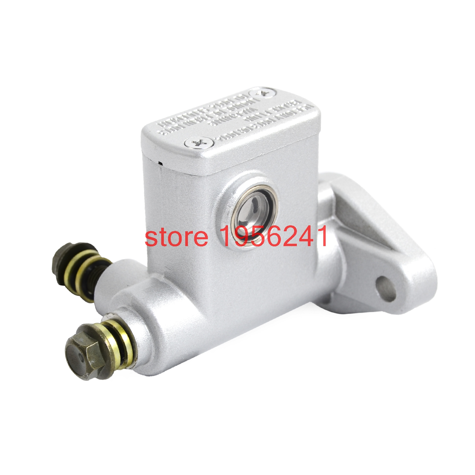 Chinese Go Kart Rear Hydraulic Brake Master Cylinder Version 4 For Many 50cc 90cc 110cc and 150cc models