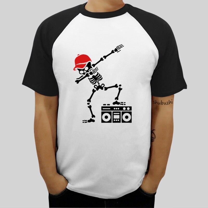 Dab dabbing skeleton boomb Men's Premium T-Shirt t-shirt mens euro size ringer tops shubuzhi brand male t shirt