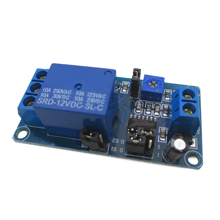 12V power delay relay delay circuit module is better than 555 chips 1pcs current detection sensor module 50a ac short circuit protection dc5v relay