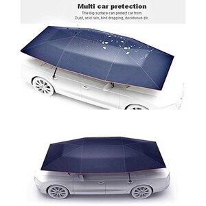 Image 3 - แบบพกพาอัตโนมัติรถร่มรถกลางแจ้งเต็นท์หลังคาUVชุดป้องกันดวงอาทิตย์Shadeด้วยรีโมทคอนโทรล