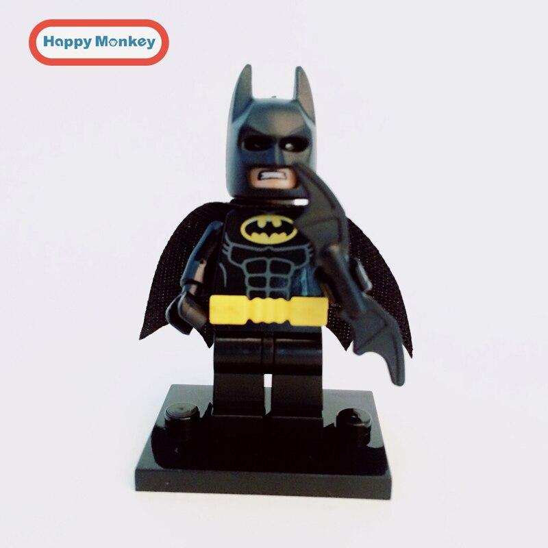 2017 DC SuperHeroes Joker Batman Bruce Wayne The Dark Knight lepin Building Block Figures Toys Children Gift zk35 2018 next cavalier nexus knight the stone colossus of ultimate destruction building block joker jestro figures lepine 70356 toys