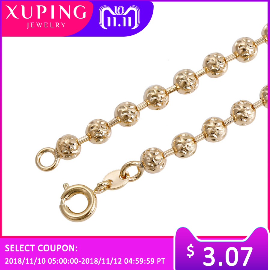 11.11 Deals Xuping Fashion Temperament Necklace Environmental Copper for Women Christmas Day Jewelry Gift S71-43820
