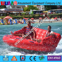 Free shipping inflatable Water sofa boat Inflatable toys for Sale(CE pump+repair kit)