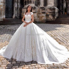 c55e767387 Vestidos De Noiva De Luxo suknia ślubna cywilnego suknia balowa Lace  Vintage suknie ślubne księżniczki Sexy luksusowe suknie ślu.