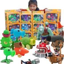 Plants Zombies Model Vinyl Figures Vs Action Toys Game Play For Children