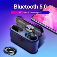 Bluetooth 5,0 TWS Blutooth наушники беспроводные наушники для телефона Handsfree спортивные наушники Ture беспроводные стерео наушники HBQ-32