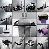 HIDEEP Bathroom Accessories Stainless Steel Towel Bar Toilet Paper Holder Toilet Brush Shelf Kit Storage Rack Bath Towel Ring