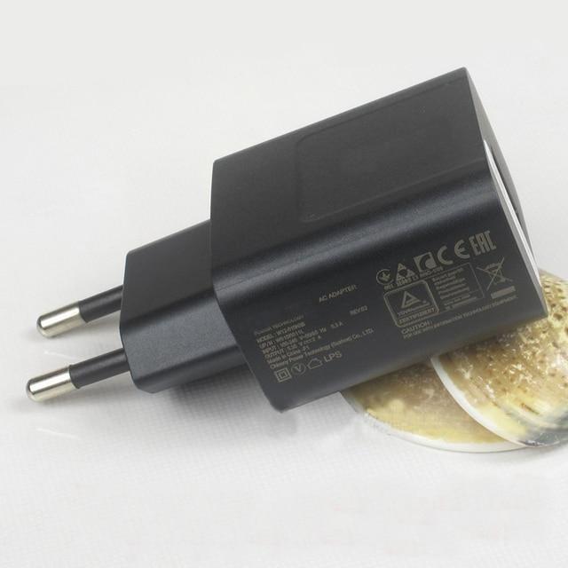 Plugue da ue 5.35 v 2a adaptador de carregador de parede usb original para asus zenfone 2 5 6 deluxe laser max zoom