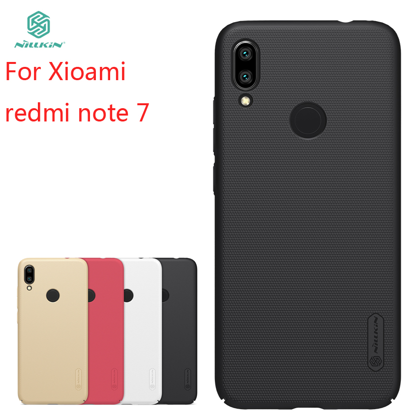 For Xiaomi Redmi Note 7 Case Cover NILLKIN Fitted Cases For Xiaomi Redmi Note 7/redmi note 7 pro Super Frosted Shield 6.3For Xiaomi Redmi Note 7 Case Cover NILLKIN Fitted Cases For Xiaomi Redmi Note 7/redmi note 7 pro Super Frosted Shield 6.3