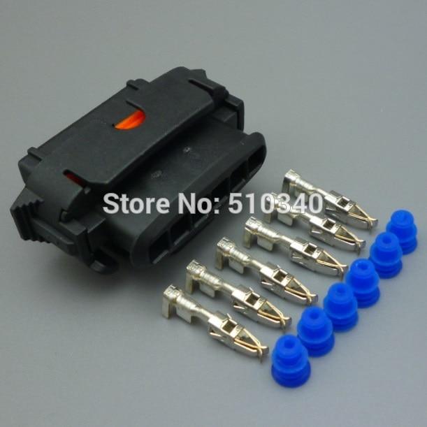 100 Unidades. 3.5mm 6 hilos conector auto piezas de repuesto