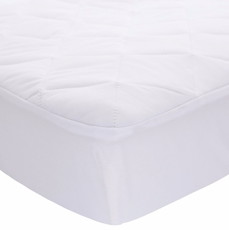 Mattress Protector Hypoallergenic Embossed Overfilled Vinyl Free Plush Breathable Dust Mite Resistant 12