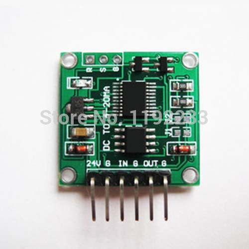 1Pce Voltage To Current Module 0-5V To 4-20MA Linear Transformation Transmitter Module