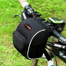 Mountain Bike Back Seat Bicycle Rear Bag Polyester Bike Saddle Bag Bicycle Accessories Tail Pouch Package Outdoor Cycling