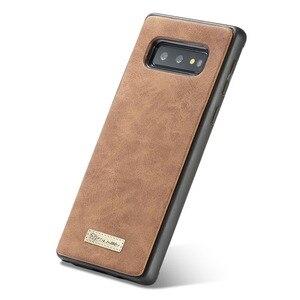 Image 5 - Кожаный чехол для Samsung Galaxy note 8 9 10 20 s8 s9 s10 5g S20 plus ultrass10e s7 edge, кошелек, чехол Etui, Модный чехол для телефона