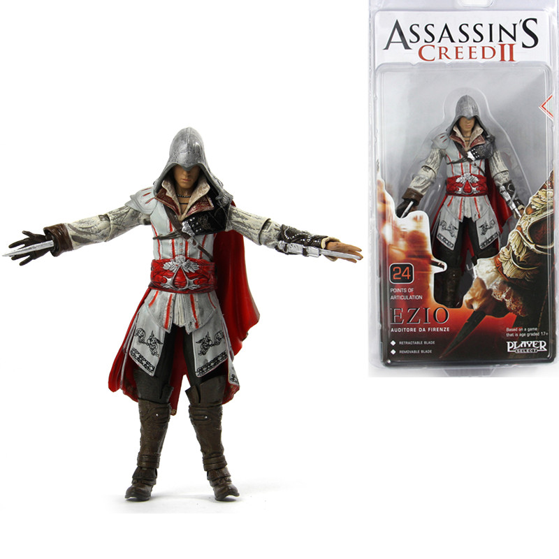 Assassin's Assassin Creed Altair PVC Action Figure Toys Assassin's Creed Game Doll pc assassin s creed unity guillotine edition