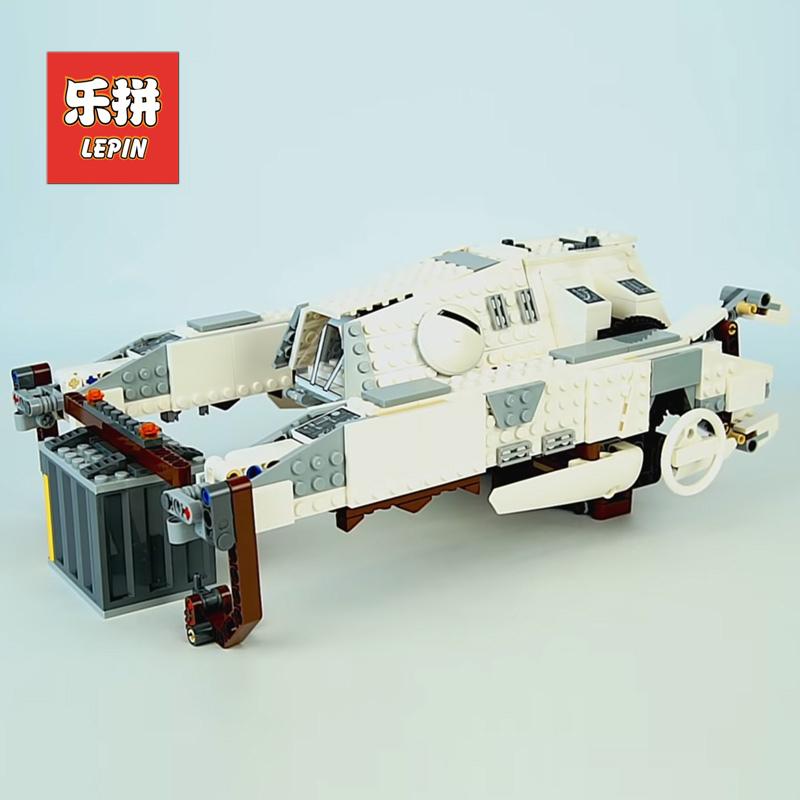 Lepin 05150 Star Wars 929Pcs Figures Imperial AT-Hauler Set Compatible Legoing 75219 Model Building Kits Blocks Bricks Toys Gift 2018 lepin 05150 compatible legoing 75219 wars series imperial at hauler building blocks bricks educational toys gifts