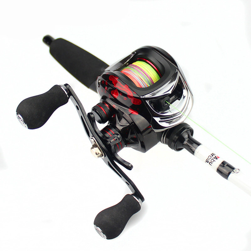 18BB Left/Right Hand Bait Casting Fishing Reel Dual Braking System Ball Bearing 7.2:1 Gear Ratio High Speed Freshwater Pesca
