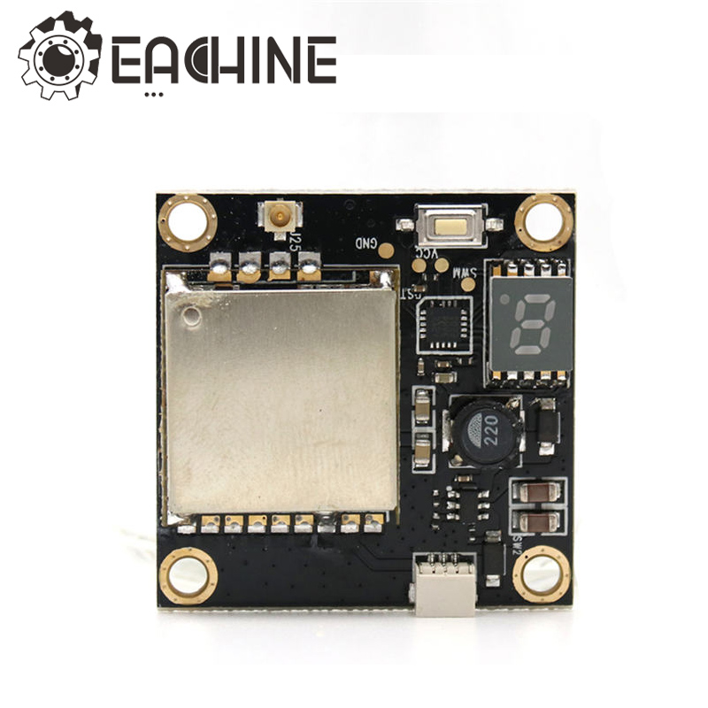 New Arrival Eachine Wizard X220S 5.8G 72CH 25MW 200mw 600MW Switchable Transmitter For RC Multicopter Models Toys
