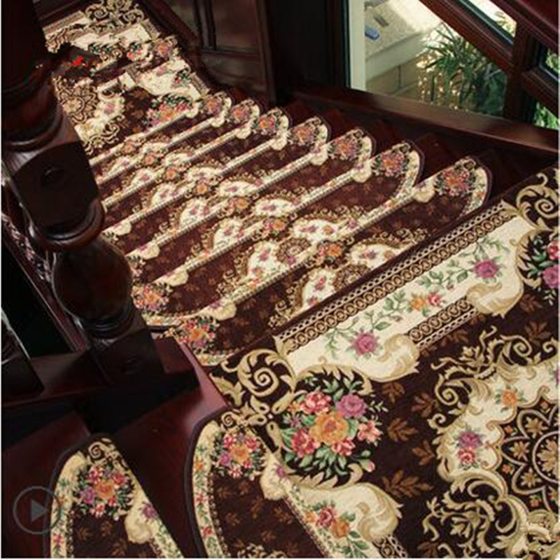 5pcs/lot Home Luminous Machine Washable 6 Styles Non Slip Floor Staircase  Carpets Stair Treads Protector Mats Can Customize In Carpet From Home U0026  Garden On ...