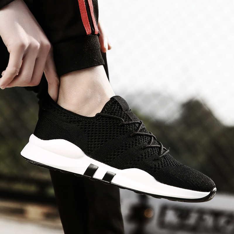Mens מאמני Zapatillas Hombre Ultra קל משקל ספורט נעליים חיצוני גברים של ריצת נעלי קיץ אוויר רשת נעלי ספורט לגבר