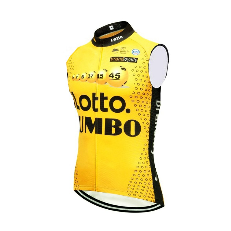 2018 pro team lotto winddicht radfahren weste 3 taschen atmungsaktive herren sommer bike tuch MTB Ropa Ciclismo Fahrrad maillot gilet