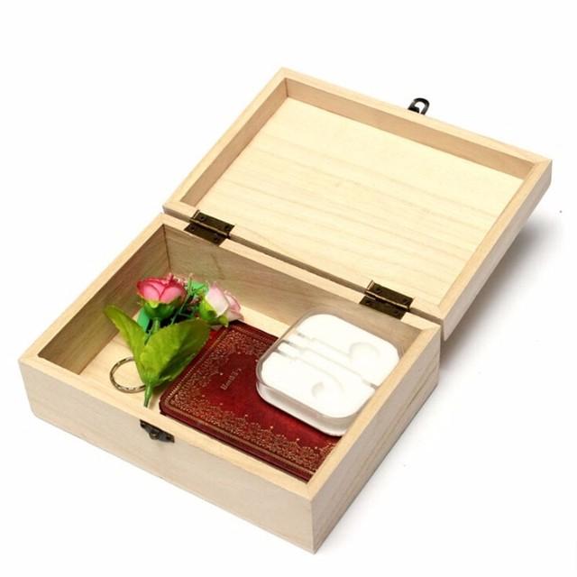 Light Wooden Storage Box