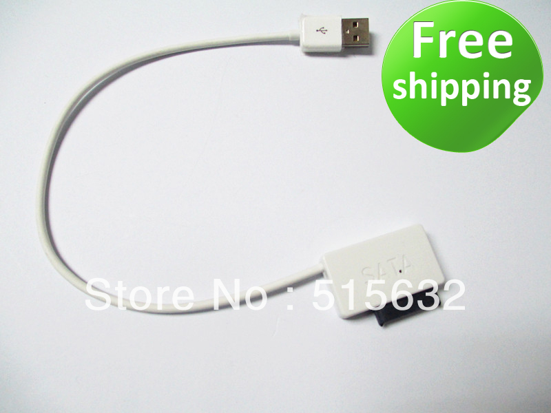NEW USB 2.0 Cable to SATA 2nd HDD caddy DVD CD ROM SATA CABLE