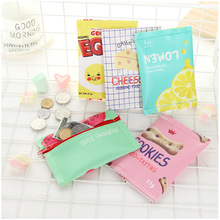 Fun Snacks Biscuit Hands with Cute  Mini Bag Little Purse Coin Wallet Kawaii Wallet Girls Purse