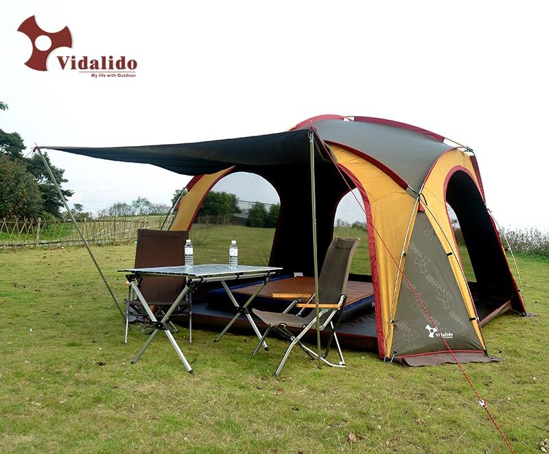 Vidalido super lightweight aluminum pole outdoor camping pergola