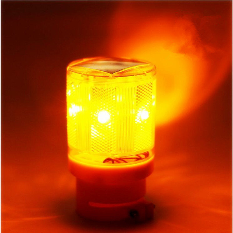 Traffic Light led Solar Cell Solar LED Emergency Lamp 100 LM Bright ...