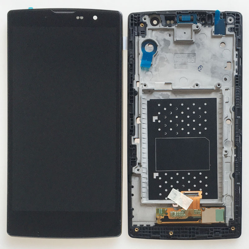 LCD Display Screen Touch Digitizer Glass Assembly + Frame for LG Magna H502 H502F H500F Y90