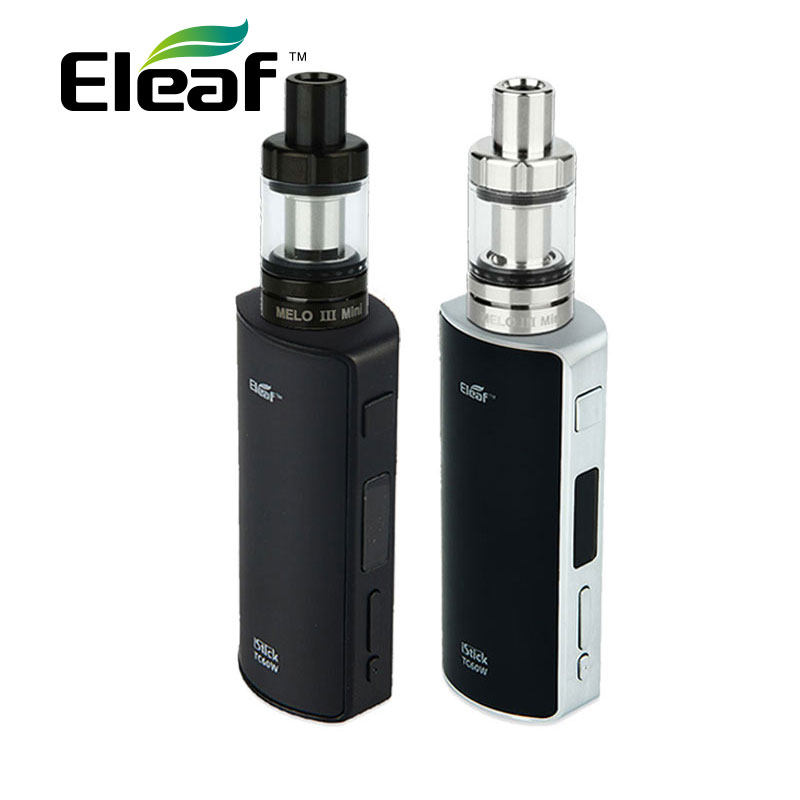 100% Original 60W Eleaf iStick Vape Kit w/ Eleaf Melo 2 Tank 4.5ml Atomizer vs Eleaf istick TC 60W BOX Mod Electronic Cigarette new in stock mi 25l ix