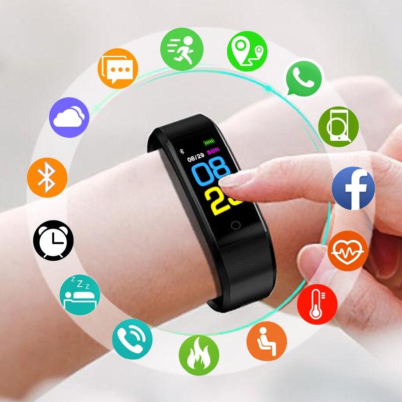 Sport Bracelet Watch Men Top Electronic LED Digital Wrist Watches For Men Clock Male Wristwatch Hours Heart Rate Monitor