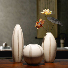 Modern Ceramic vase Crude pottery Arts and Crafts vases for centerpieces for weddings flower vase home decoration accessories modern nordic ceramic vases ornaments crafts geometric flower vase decorative centerpieces for weddings home decoration