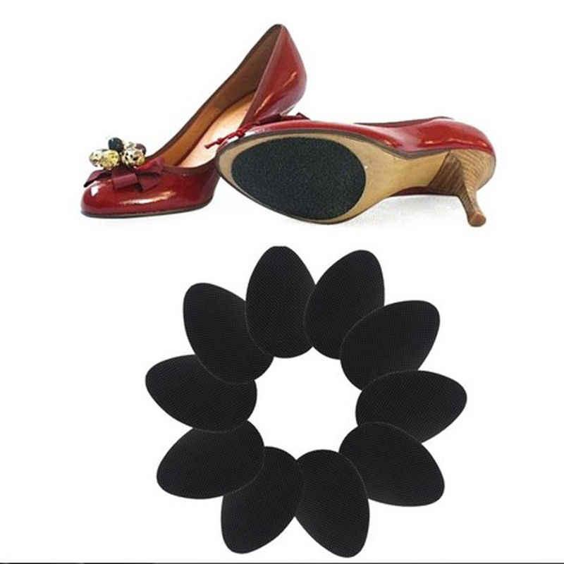 Anti - Slip Self - Adhesive รองเท้า Mat ส้นเท้า Protector แผ่นยางเบาะรองนั่งรองพื้น Forefoot สูงรองเท้าส้นสูงสติกเกอร์