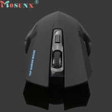 Ecosin2 Mosunx 2.4GHz LED Wireless Optical Mouse Professional Gaming Mouse Mice PC Laptop USB 2.0 Computer Mouse Gamer 17mar16