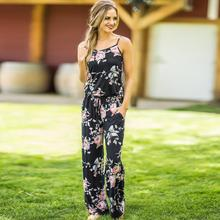 Women Bodysuits 2019 Female Super Comfy Floral Jumpsuit Fashion Trend