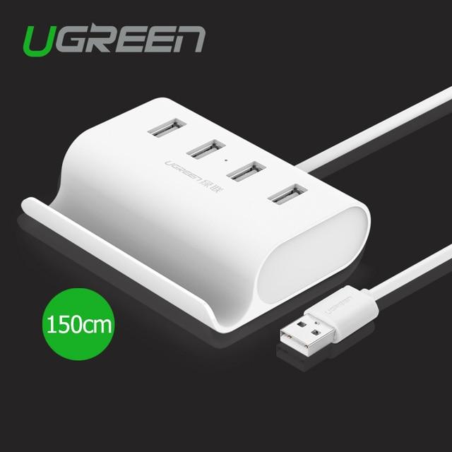 Ugreen USB 2.0-4 Ports 0.8m Black UG-20292