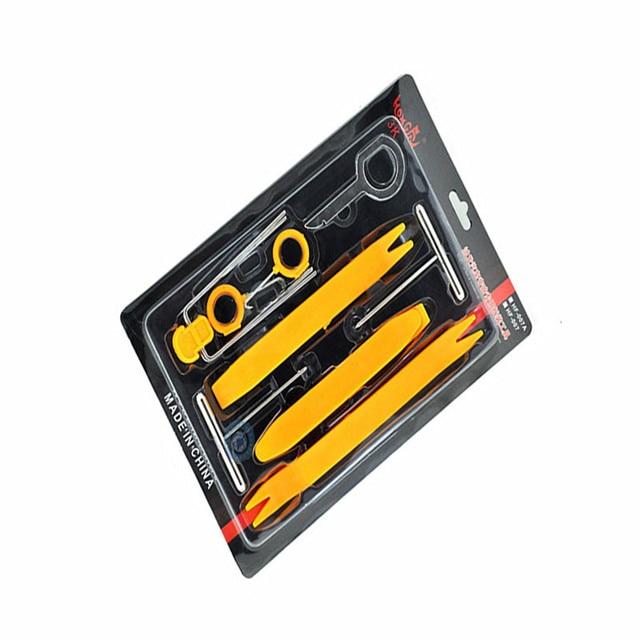 DHL ensemble doutils de dépose de voiture | Pour lautoradio, Clip de porte du panneau de garniture du tableau de bord, outil de réparation 20 pièces livraison gratuite