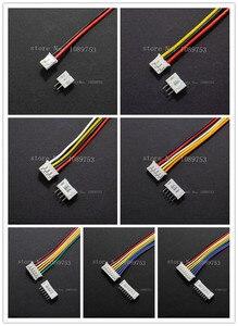 20 комплектов PH 2,0 мм JST 2/3/4/5/6/7/8/9/10/12P контактный Женский провод прямой штекер L: 200 мм