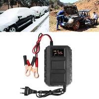 Fast Intelligent 12V 20A Automobile Car Motorcycle Smart Sealed Lead Acid Battery Charger LED Digital Display