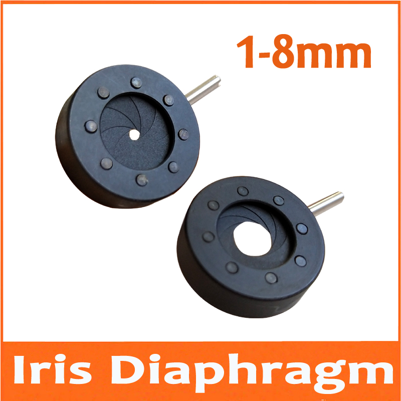 20pcs 1 8MM Amplifying Diameter Zoom Optical Iris Diaphragm Aperture Condenser 8 Blades for Digital Camera