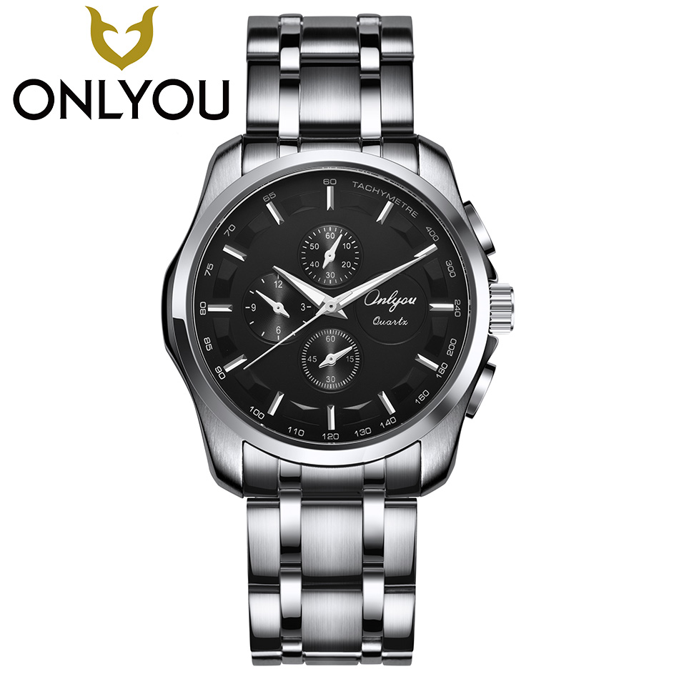 ONLYOU Lover Watches Women Top Luxury Brand Men Business Quartz Clock Ladies Dress Wristwatch Male Sport Waterproof Watch цена