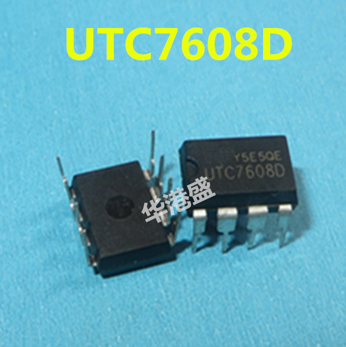 10PCS UTC7608D UTC7608 YW DIP8 Power Management Chip Quality Assurance