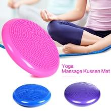 Tapis gonflable Durable de coussin de Massage d équilibre de stabilité de  Wobble de Yoga 50bef33edac