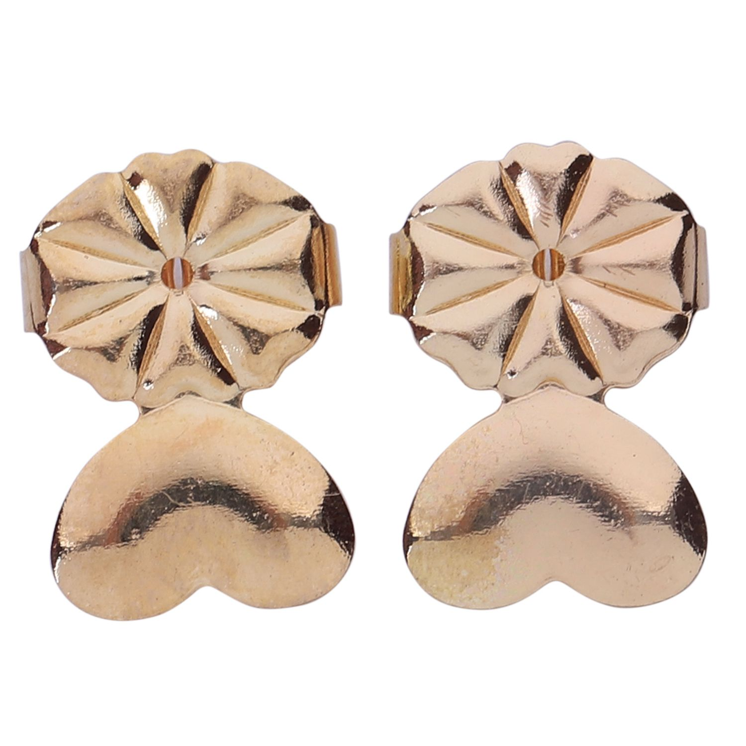 1Pair Creative Magic Bax Earring Backs Hypoallergenic Lifter Support Stud Earrings Jewelry Accessories Round